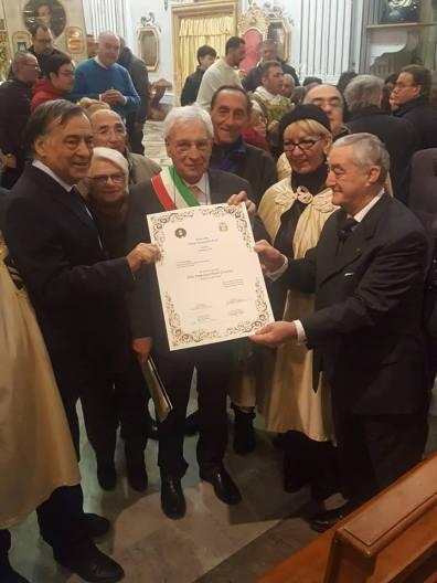 vicesindaco Nino Accardo - gemellaggio principe palagonia