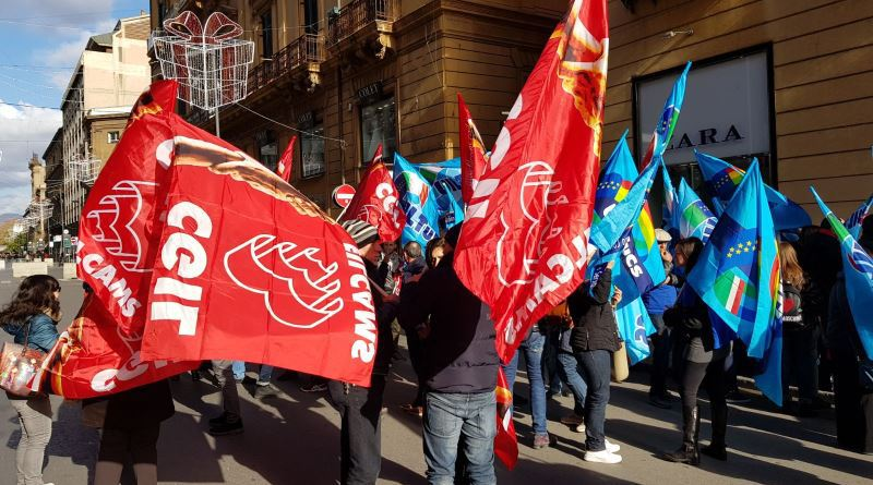 Festività con negozi chiusi in Sicilia:Cgil, Cisl e Uil proclamano sciopero