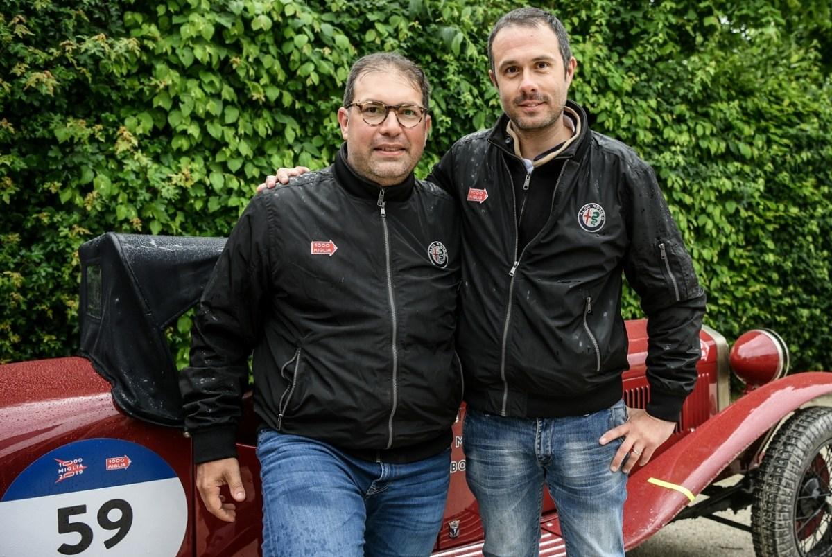 Giovanni Moceri e Daniele Bonetti vincitori della 1000 Miglia 2019
