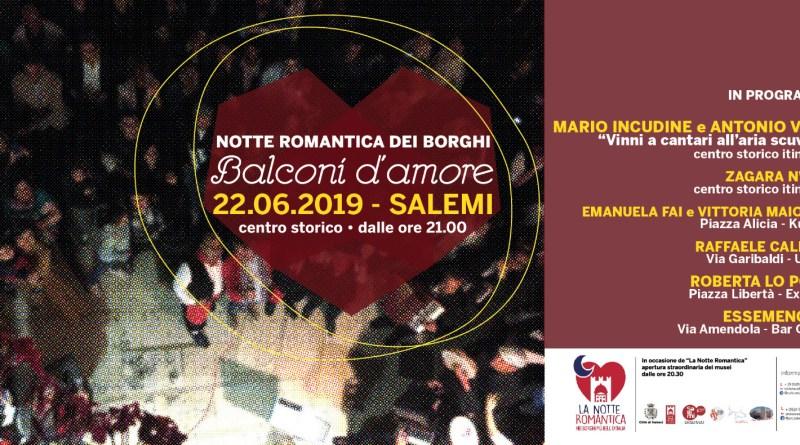 Mario Incudine alla 'Notte romantica' di Salemi