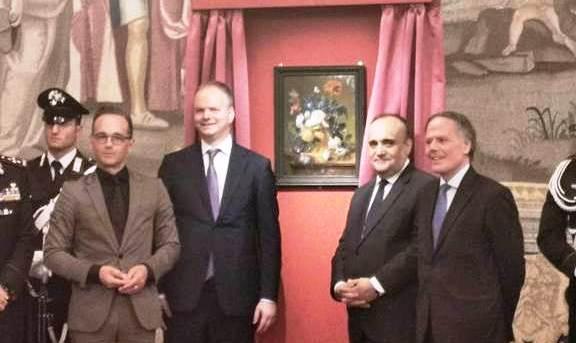 """""""Il Vaso di Fiori"""" torna a Firenze. Bonisoli: oggi è una giornata storica"""