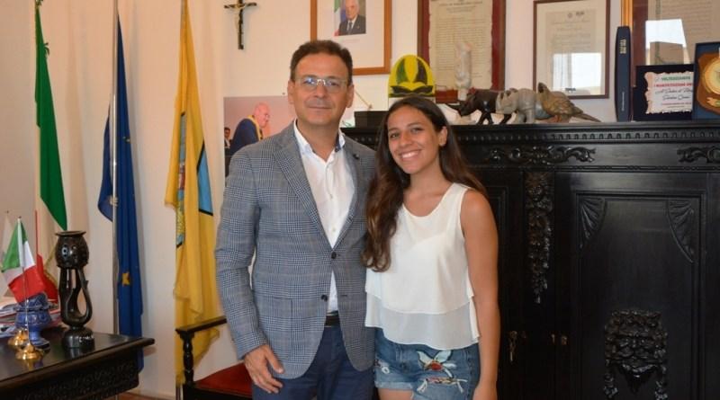 Mazara. Il sindaco incontra Corinne Ragona