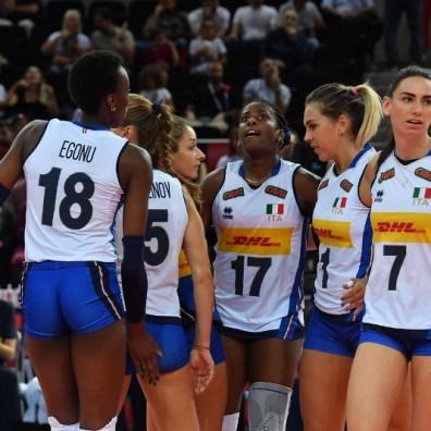 ITALIA - SERBIA SEMIFINALE EURO 2019 EUROPEI FEMMINILI pallavolo volley femminile ankara ( turchia) 07/09/2019 foto galbiati -CEV