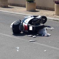 Campobello. Incidente tra auto e ciclomotore: critiche le condizioni del centauro