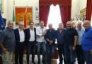 Partanna, delegazione del Comune di Castenaso in visita al Palazzo municipale