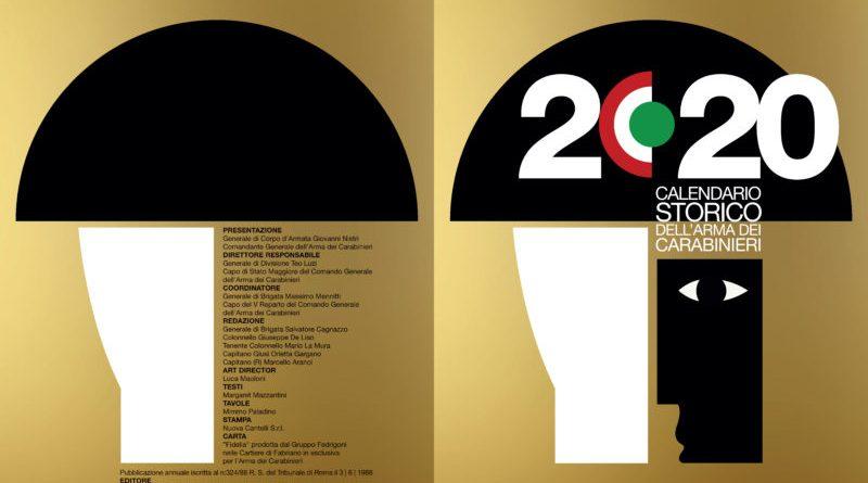 Trapani. Presentazione del Calendario Storico e dell'Agenda 2020 dell'Arma dei Carabinieri