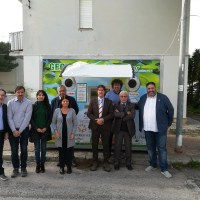 """Campobello. Ispettori ministeriali Invi Italia in visita per il progetto """"La tutela dell'Ambiente è Legalità"""" Eco Green Compactor"""