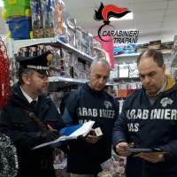 [Operazione Capodanno sicuro] Mazara. Oltre 800 articoli pericolosi sequestrati dai carabinieri.