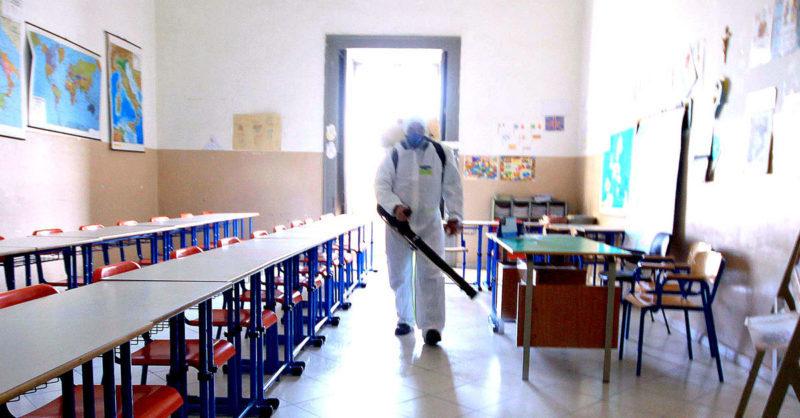 [Covid 19] Campobello. Chiusura plessi scolastici per interventi di sanificazione fino a sabato.