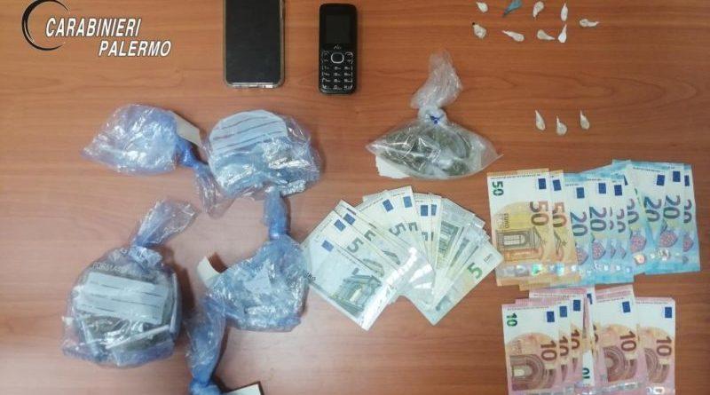 Palermo. Bazar della droga in via cipressi: carabinieri arrestano 21 enne