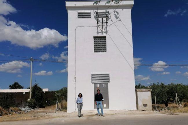 Campobello. Murales raffigurante Peppino Impastato sulla cabina Enel di Via Mare