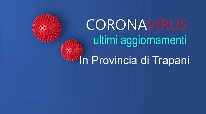 [Covid 19] Arrivano a 582 i positivi in provincia di Trapani