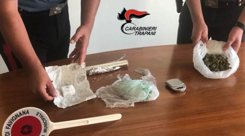Castellammare del G.: Fiuto del cane anti – droga incastra pusher incensurato 23enne