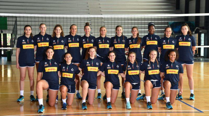 Volley. Giovedì prende il via il Campionato Europeo Under 17 femminile
