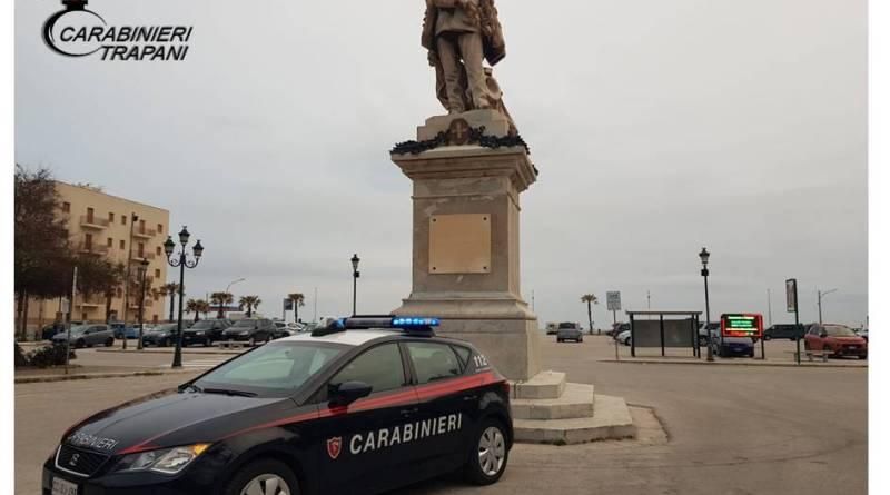 Trapani. Servizio coordinato dei Carabinieri: un arresto e due denunce