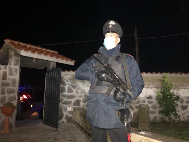 L'operazione dei Carabinieri a Tor Bella Monaca (4)