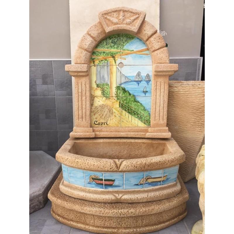 Tutti i prodotti commercializzati da ceramiche di vietri kaleidos di giovanni senatore, vengono realizzati a. Fontana Da Giardino Fontana Sassolini H 125 Cm Giardino E Giardinaggio Fontane Louma Info
