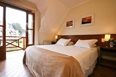 Vista Apartamento Família - Pousada Campos de Provence