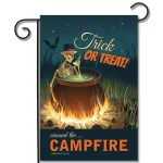 Halloween Campsite Flag Trick Or Treat Around The Campfire