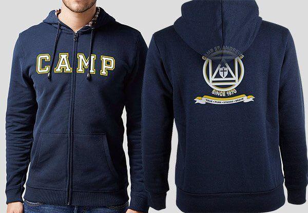 Camp St. Andrews 2017 Zippered Hooded Sweatshirt