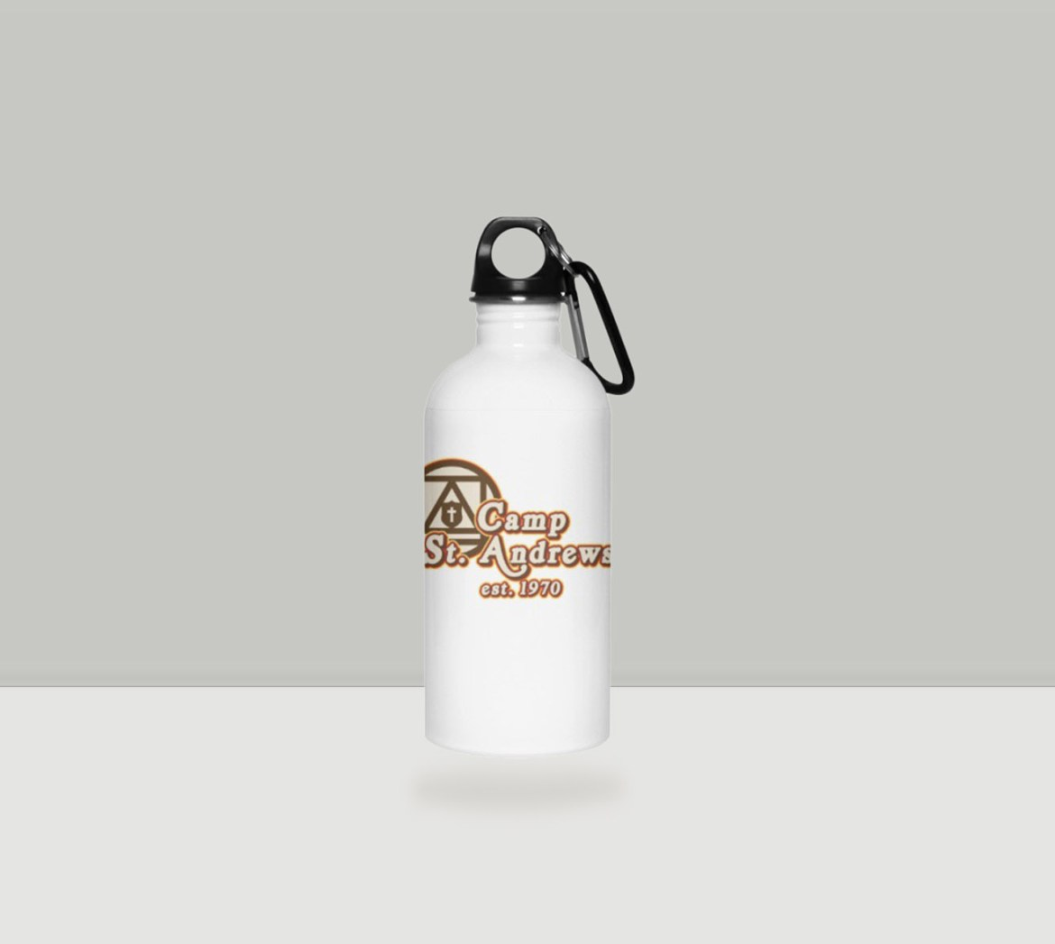 Camp St. Andrews 2020 70s Style Water Bottle