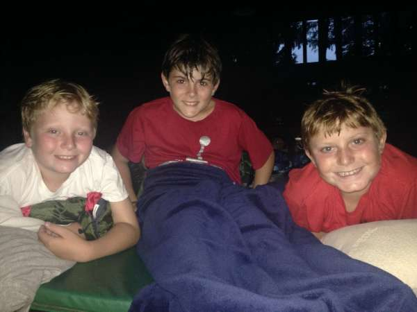 Camp Takajo Warrior Movie Night 2014