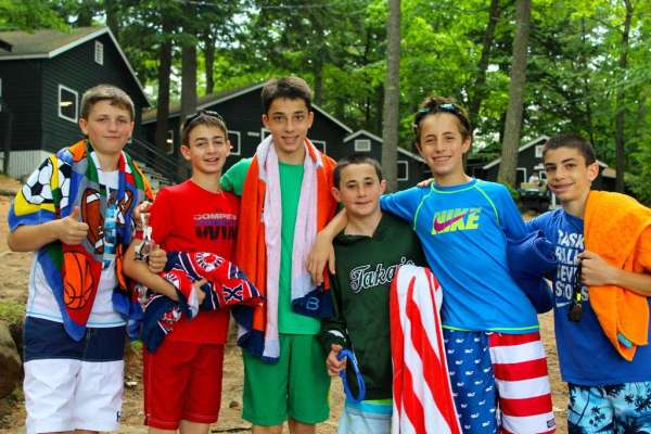 Camp Takajo in Naples, Maine for boys