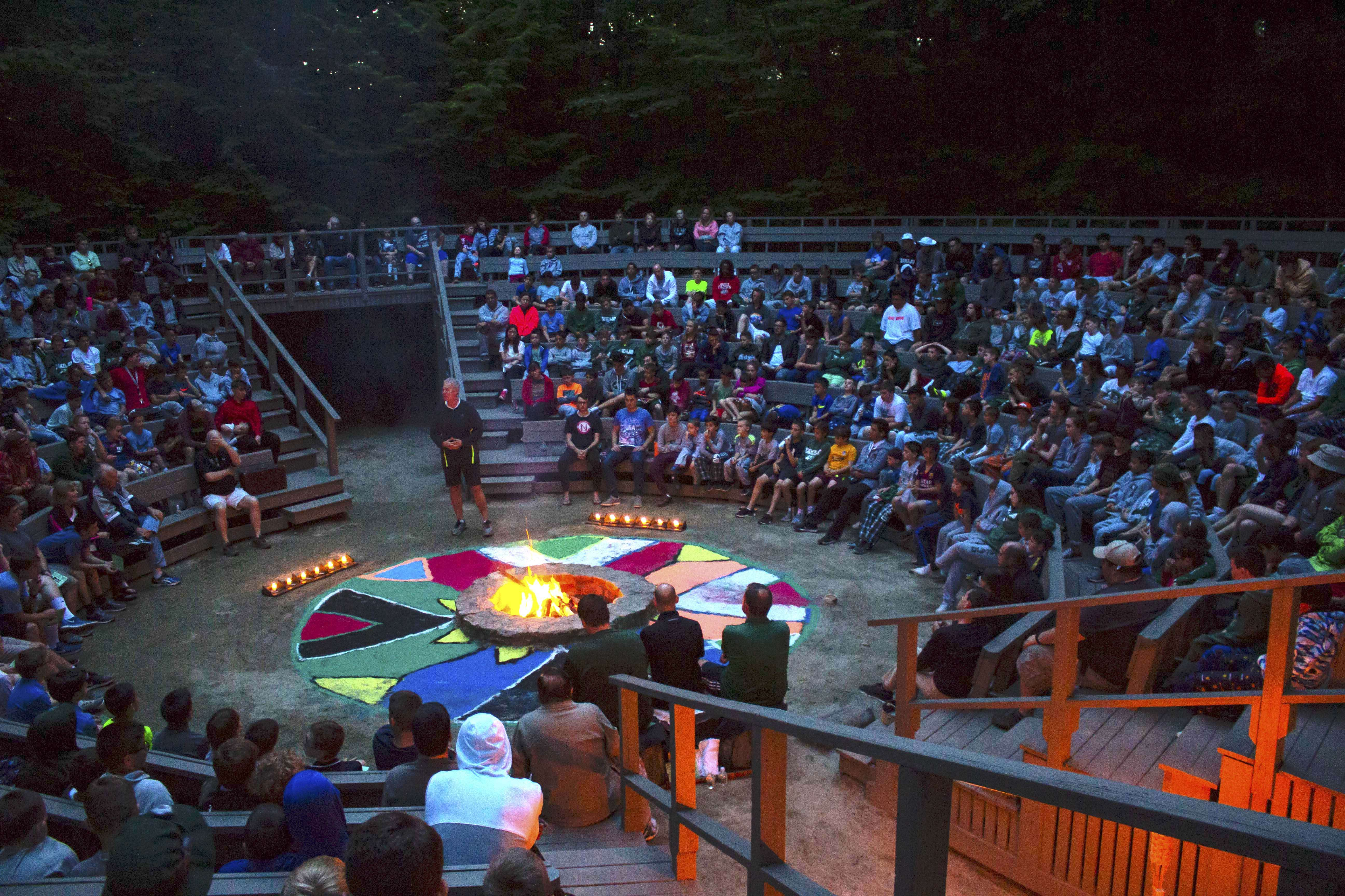 Camp Takajo Opening Council Fire 2018