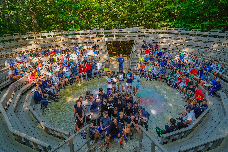 Camp Takajo in Naples, Maine, USA