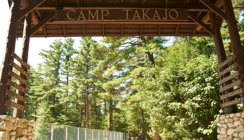 Camp Takajo in Maine