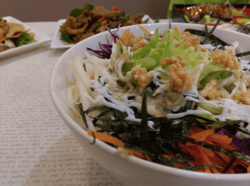 Vegetable style cold Soba Noodles - $8.50