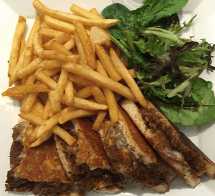 Rendang Grilled Cheese – $16