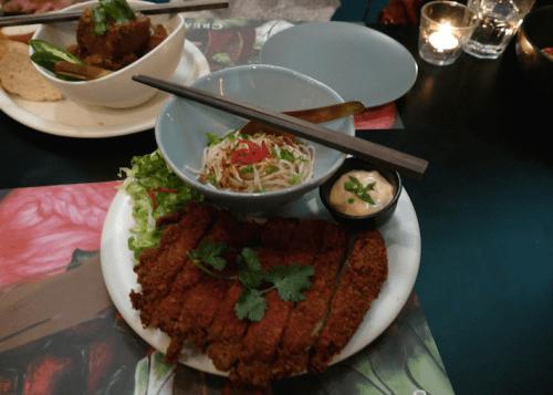 Ah Gong Fried Chicken & Ah Ma Noodles - $22