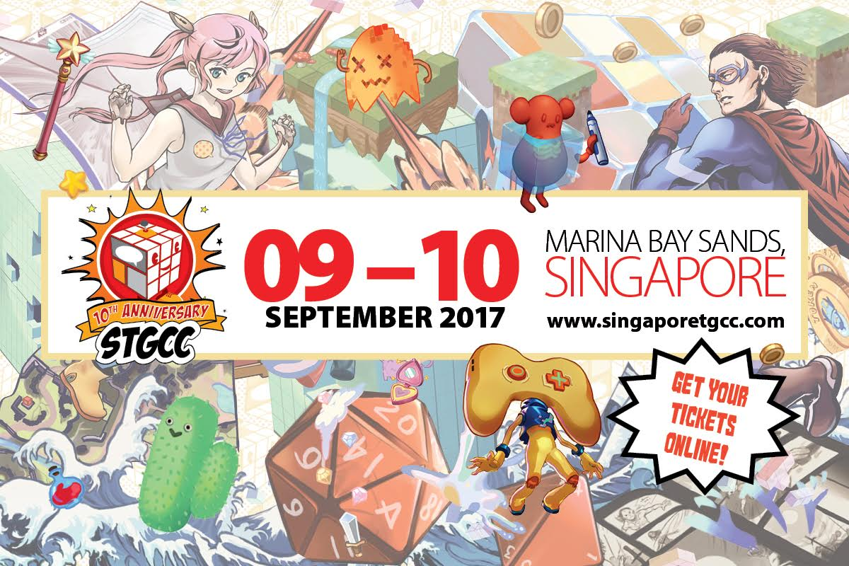 Turning 10 This Year Singapore Toy Game Comic Convention 2017 STGCC Will Take Place On 9 And September At Marina Bay Sands