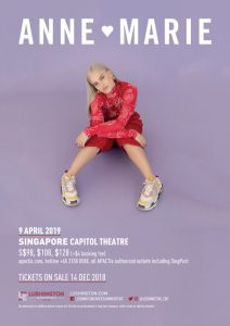 Anne-Marie Live in Singapore @ Capitol Theatre, Singapore