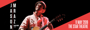 Jason Mraz Good Vibes Tour @ The Star Theatre, The Star Performing Arts Centre