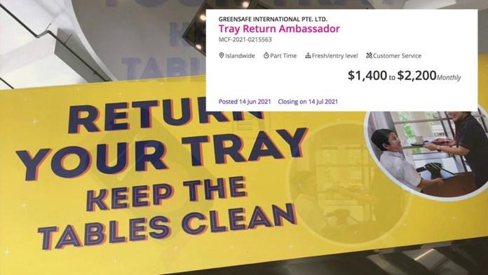 Tray Return Ambassador
