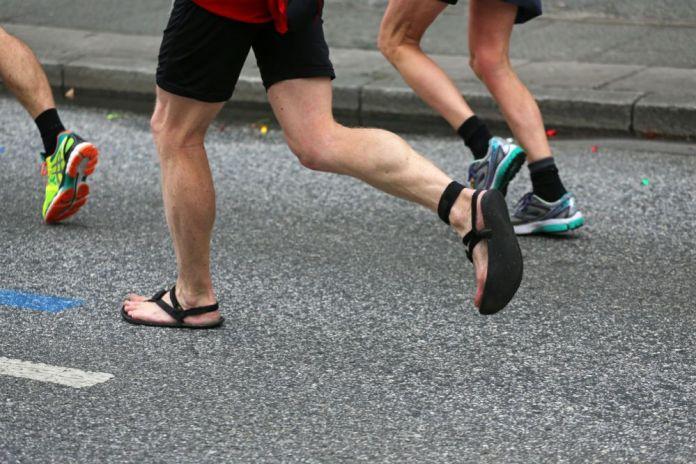 sandals running