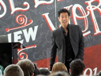 Grant Imahara spoke to a packed house at the DMACC West Campus on Thursday, March 6.