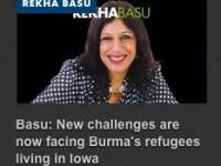 Des Moines columnist Rekha Basu