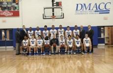 DMACC 2018-19 Men's Basketball team