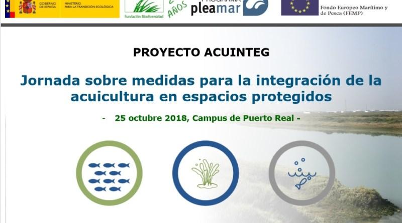 Inscríbete ya en la jornada 'Medidas para la integración de la acuicultura en espacios protegidos'