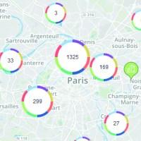 L'écosystème numérique en Ile-de-France : la carte
