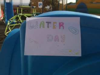 water day sign