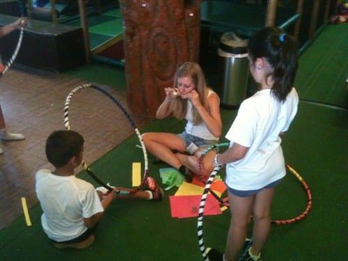 Taller del hula hoop