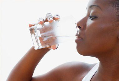 Black-Woman-drinking-water[1]