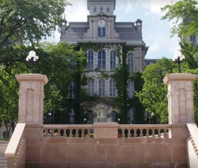 Syracuse University To Add  More Security Officers By Spring