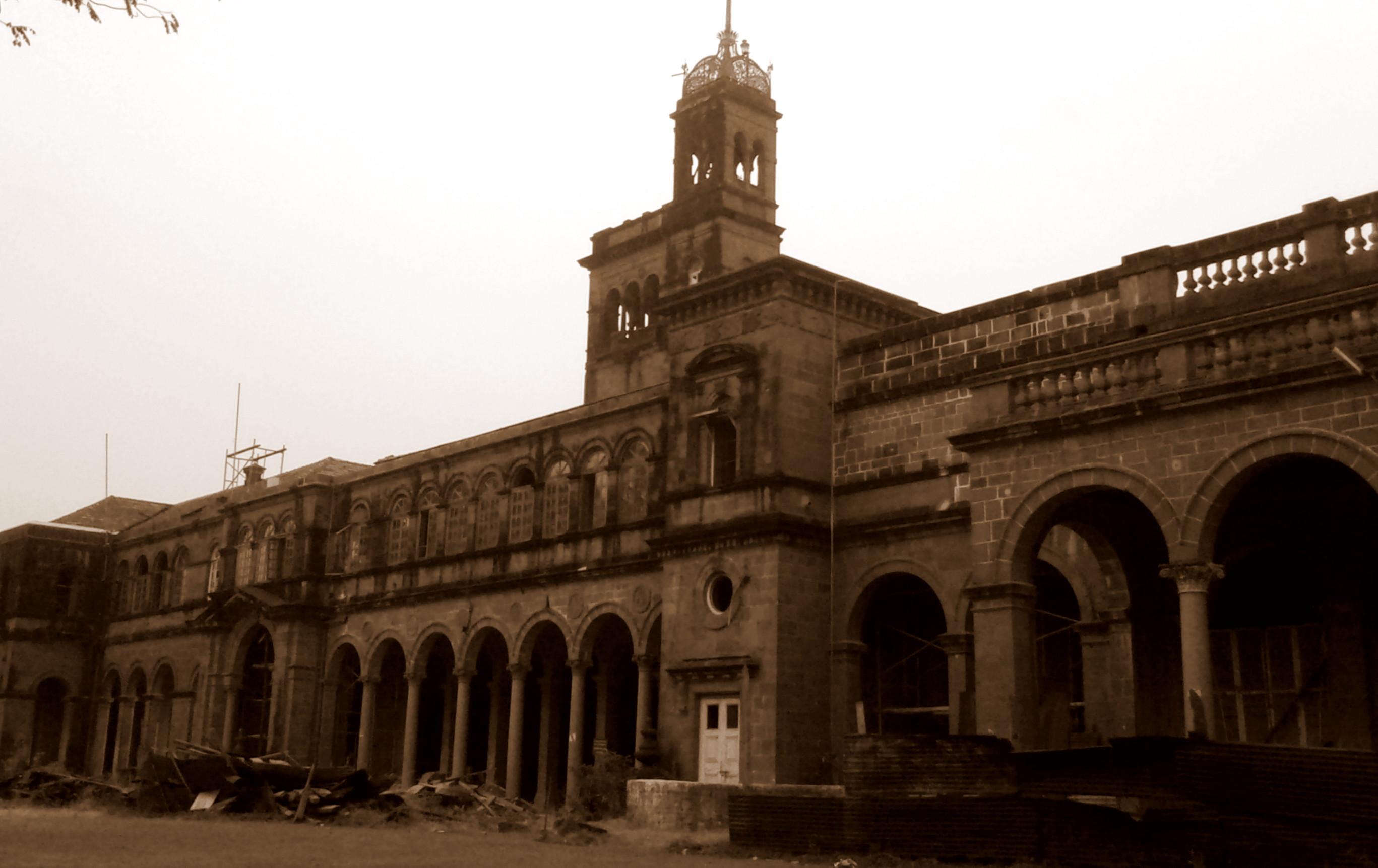 University of Pune Vintage Image