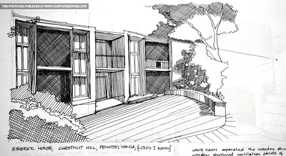 esherick-house-sketch