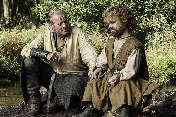 game-of-thrones-season-5-Jorah-and-Tyrion-talk-about-their-Dads-in-episode-6